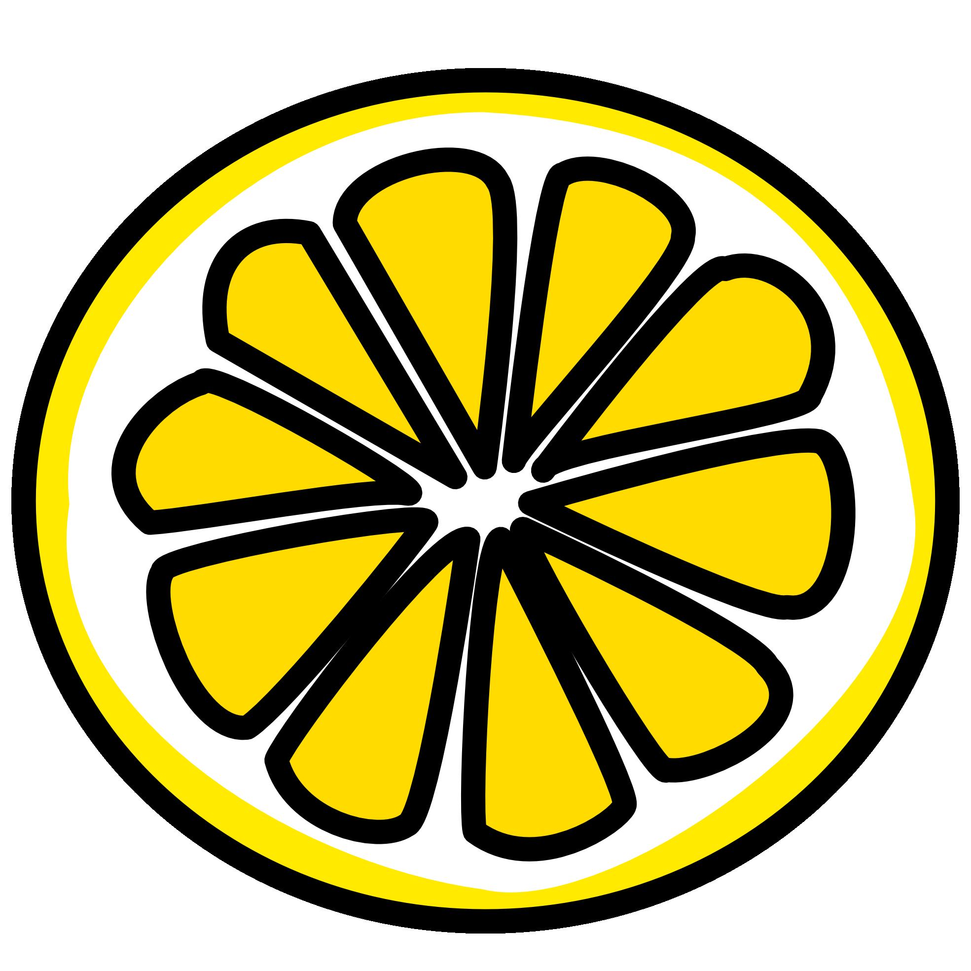 png royalty free download Lemon Slice Paintings Clipart