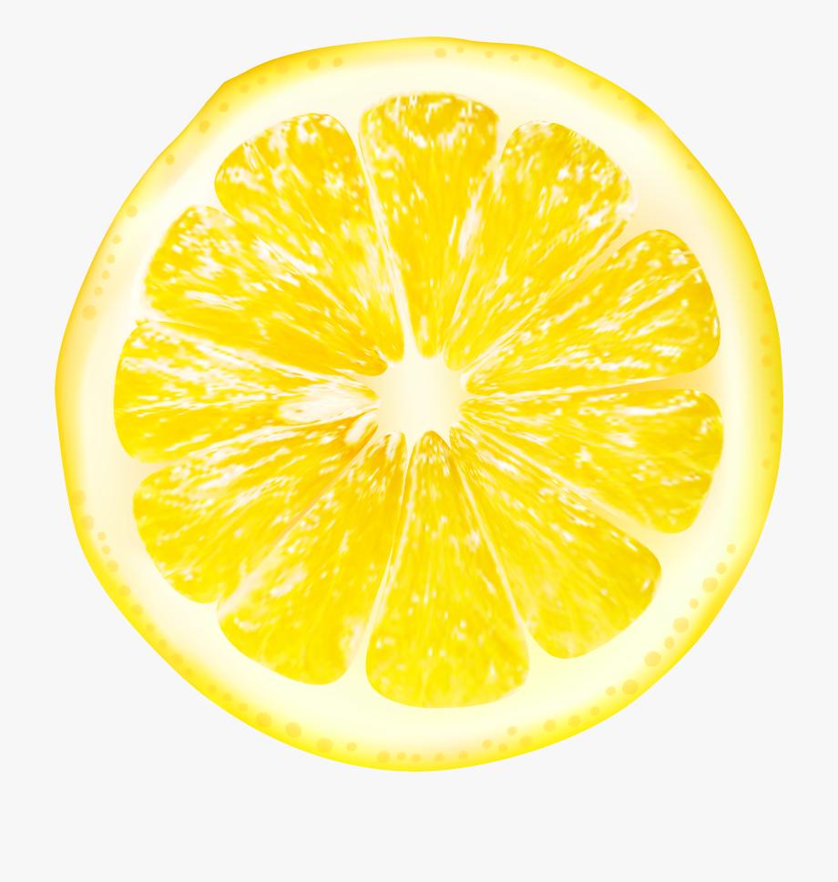 picture freeuse library Slices png clip art. Lemons clipart transparent background.
