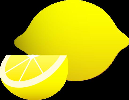 clipart library stock Lemons clipart veggie. Yellow lemon and wedge.