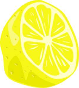 jpg royalty free stock Lemons clipart veggie. Lemon half clip art.