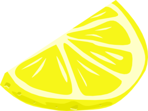 png royalty free library Lemon Wedge clip art