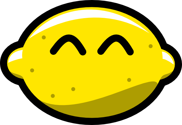 clip transparent download Happy Lemon Clip Art at Clker