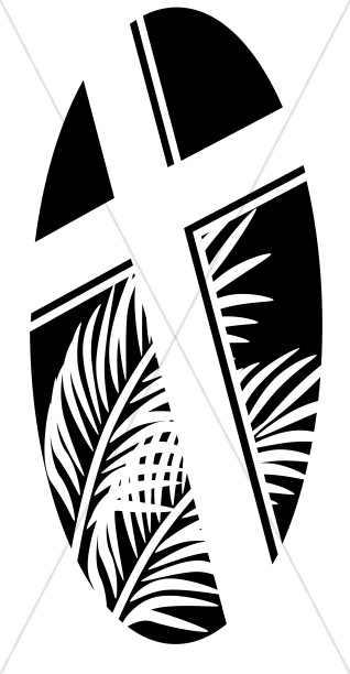 jpg freeuse Graphics images sharefaith oval. Lent clipart black and white.