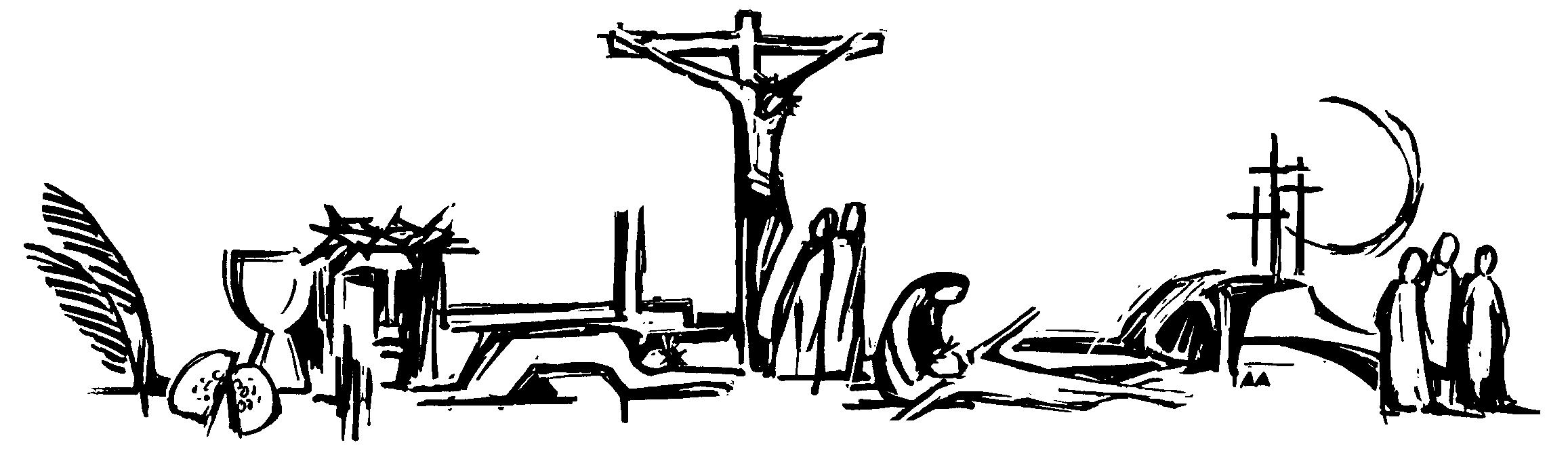 clip art Free download clip art. Lent clipart black and white.
