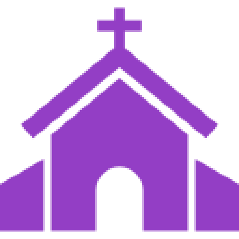 freeuse Lent clipart violet. Church of saint patrick.