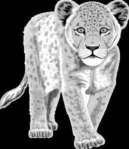 free Leopard clipart. Clip art at clker.