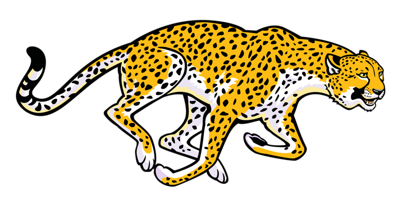 graphic free download Cheetah run free on. Leopard clipart tail.