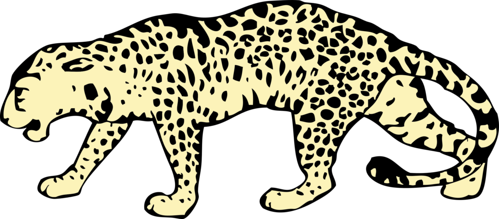 graphic royalty free stock Png file peoplepng com. Leopard vector