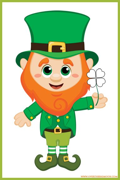 vector royalty free download Leprechaun clipart. St patrick s day.