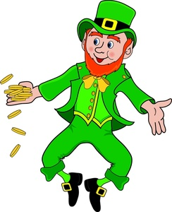 png freeuse download Panda free images . Leprechaun clipart.