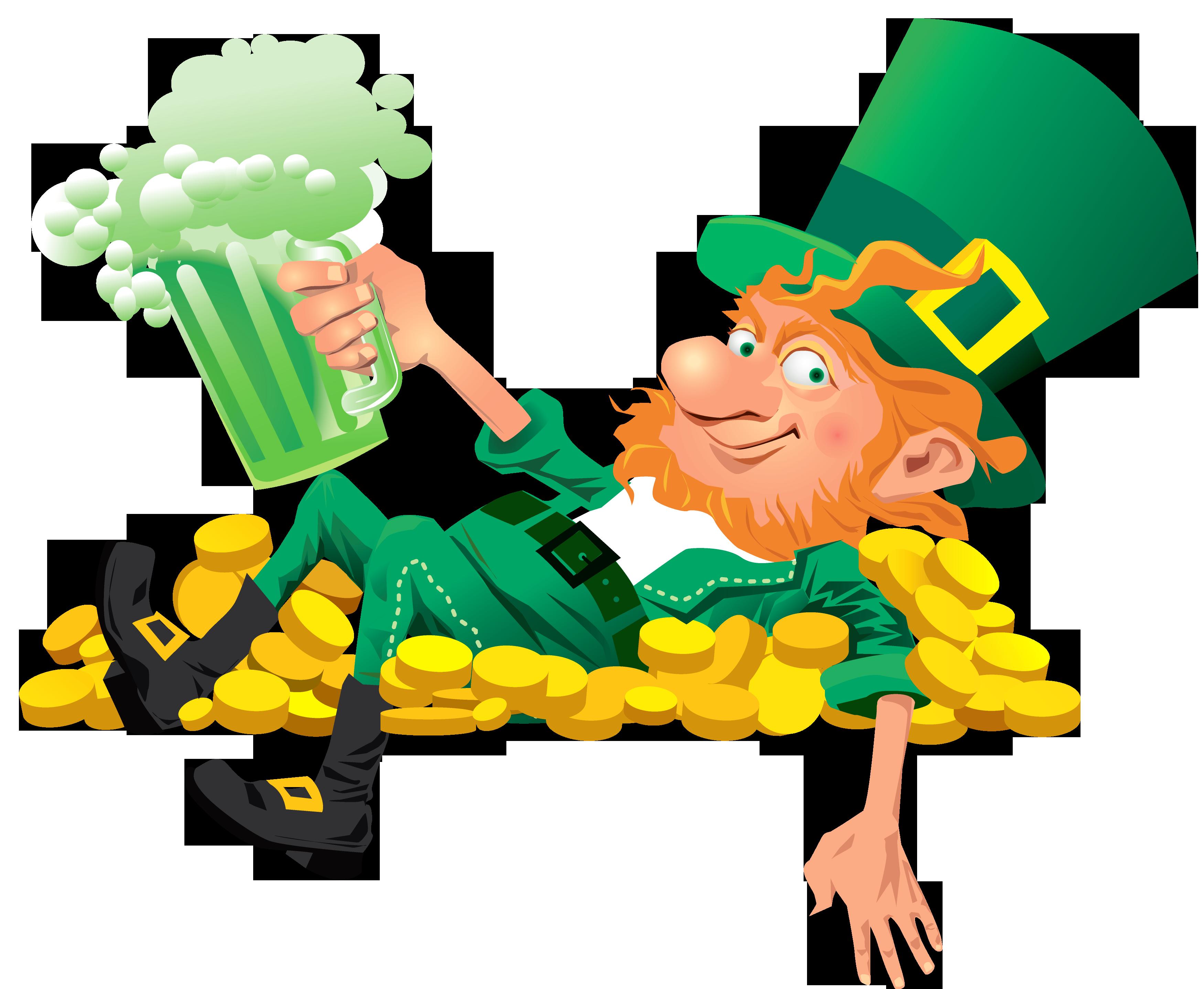 jpg free Beer clip art images. Beard clipart leprechaun