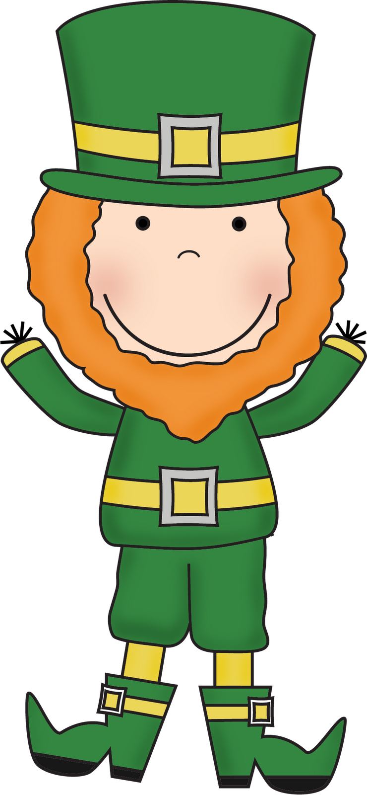 picture freeuse stock Cilpart interesting inspiration . Leprechaun clipart.