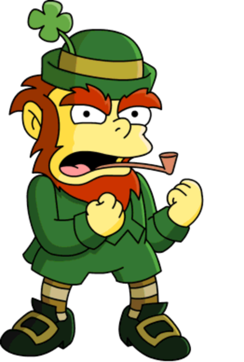 clipart Leprechaun clipart mooning. Images of a image.