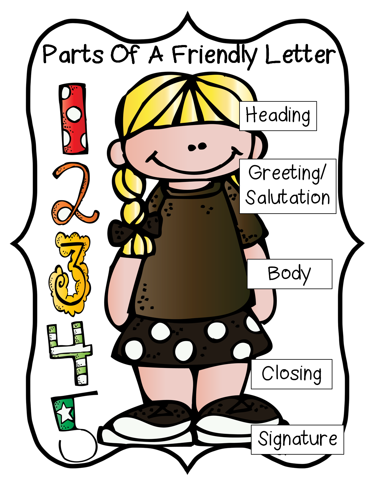 png Letter writing clipart. De liver first grade