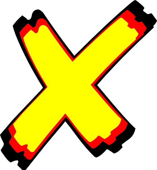 jpg stock Letter X Clip Art at Clker