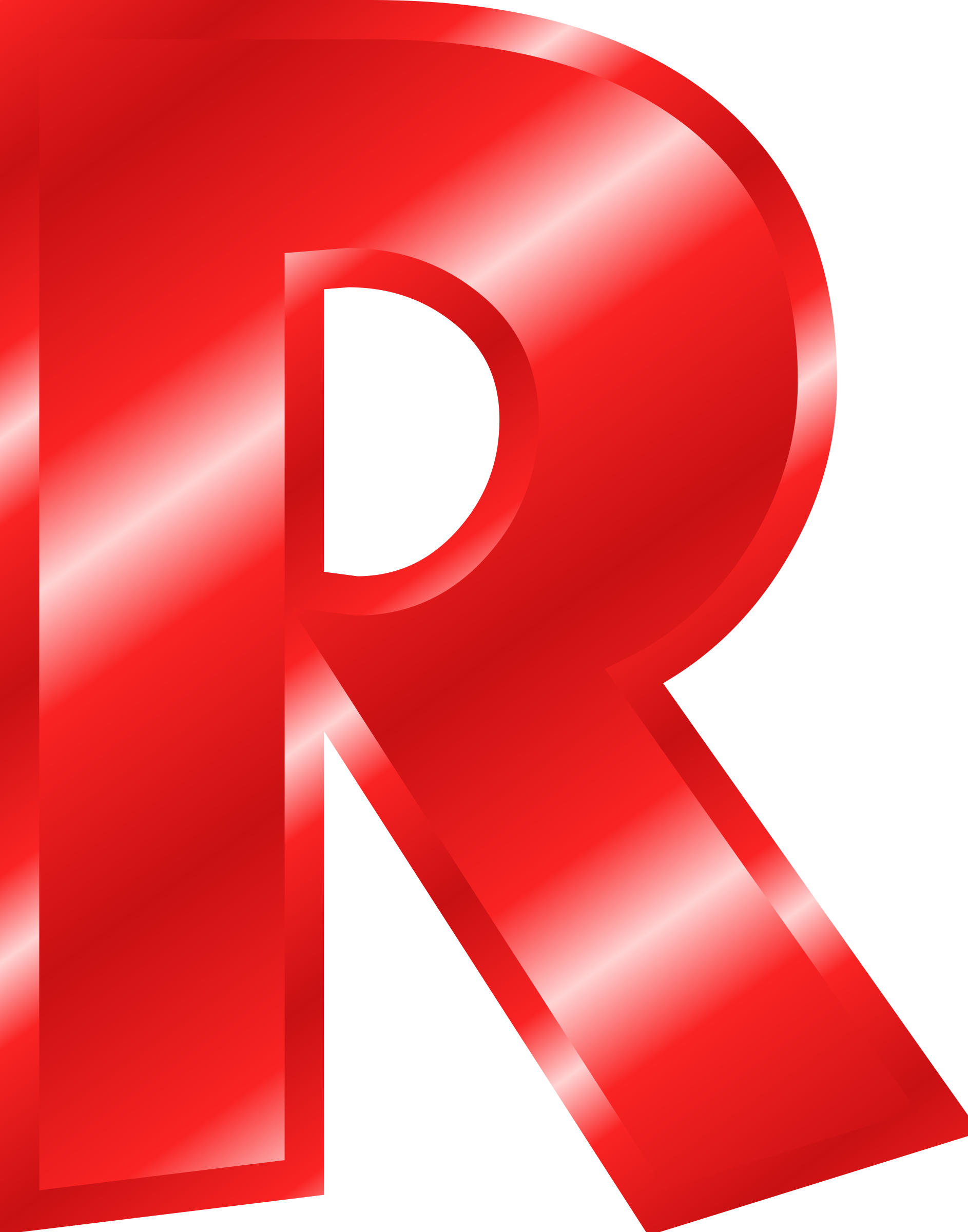 banner freeuse library Letters clipart red. Effect alphabet big image.