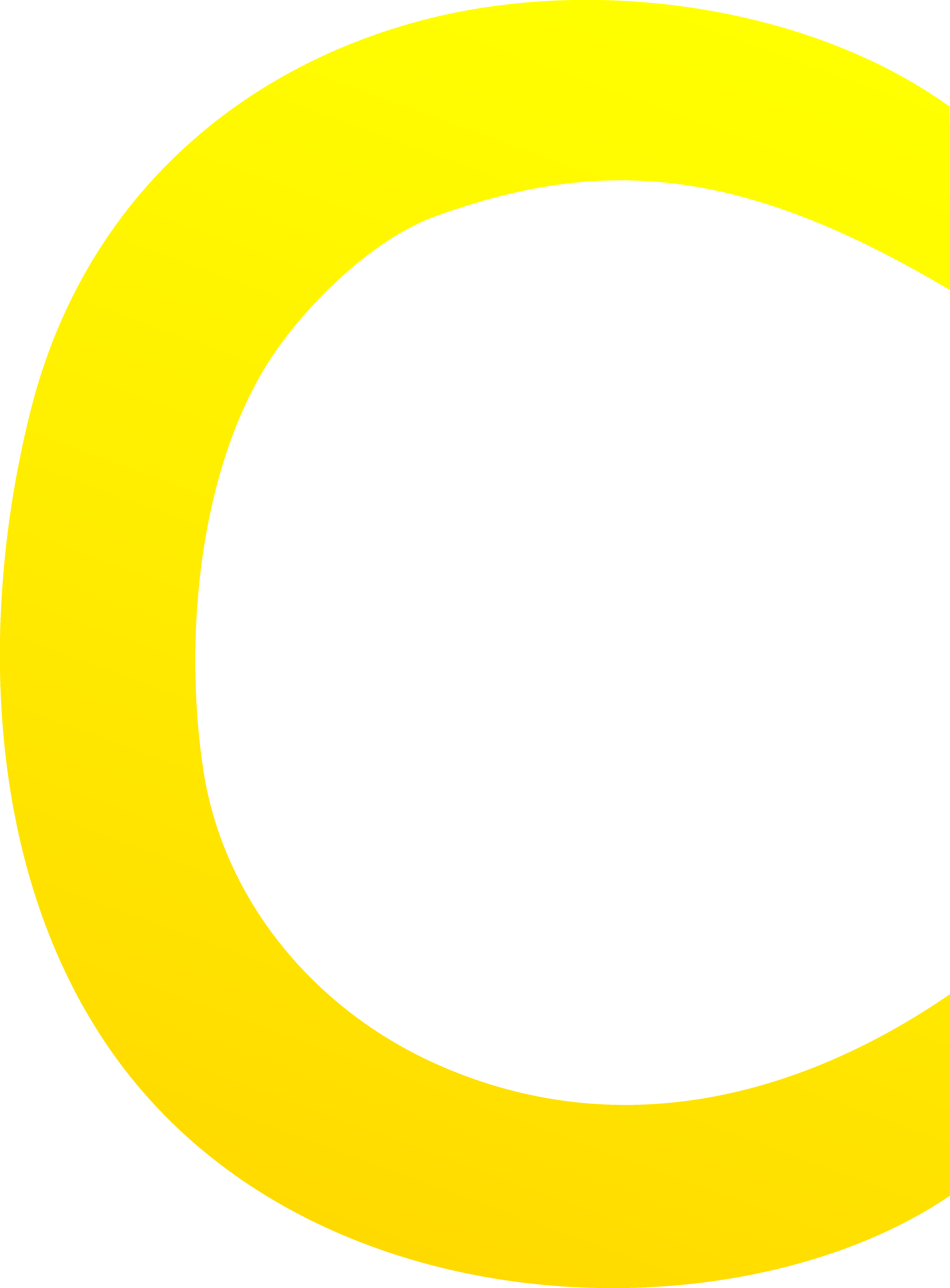 transparent Letters clipart yellow. The letter c free.