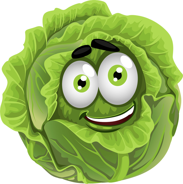 graphic free library Lettuce clipart. Face free on dumielauxepices.