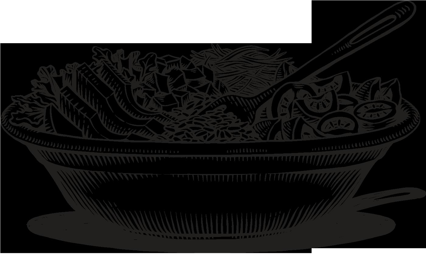 svg transparent download Salad clipart black and white. Image result for farm
