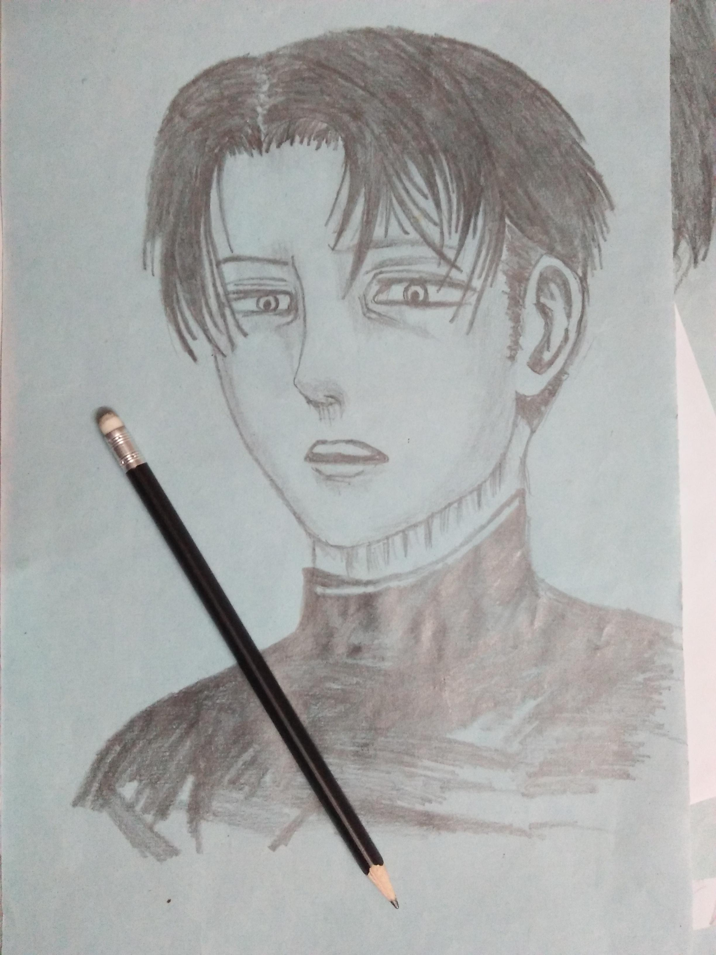 banner Levi drawing. I tried to copy
