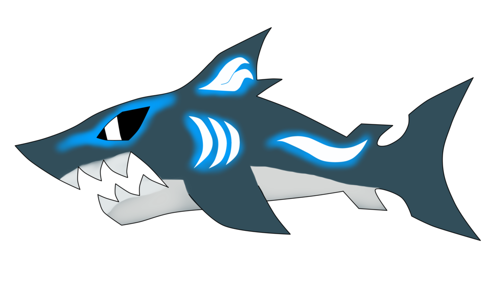 clip download Drawing sharks megalodon. Big tooth by turb