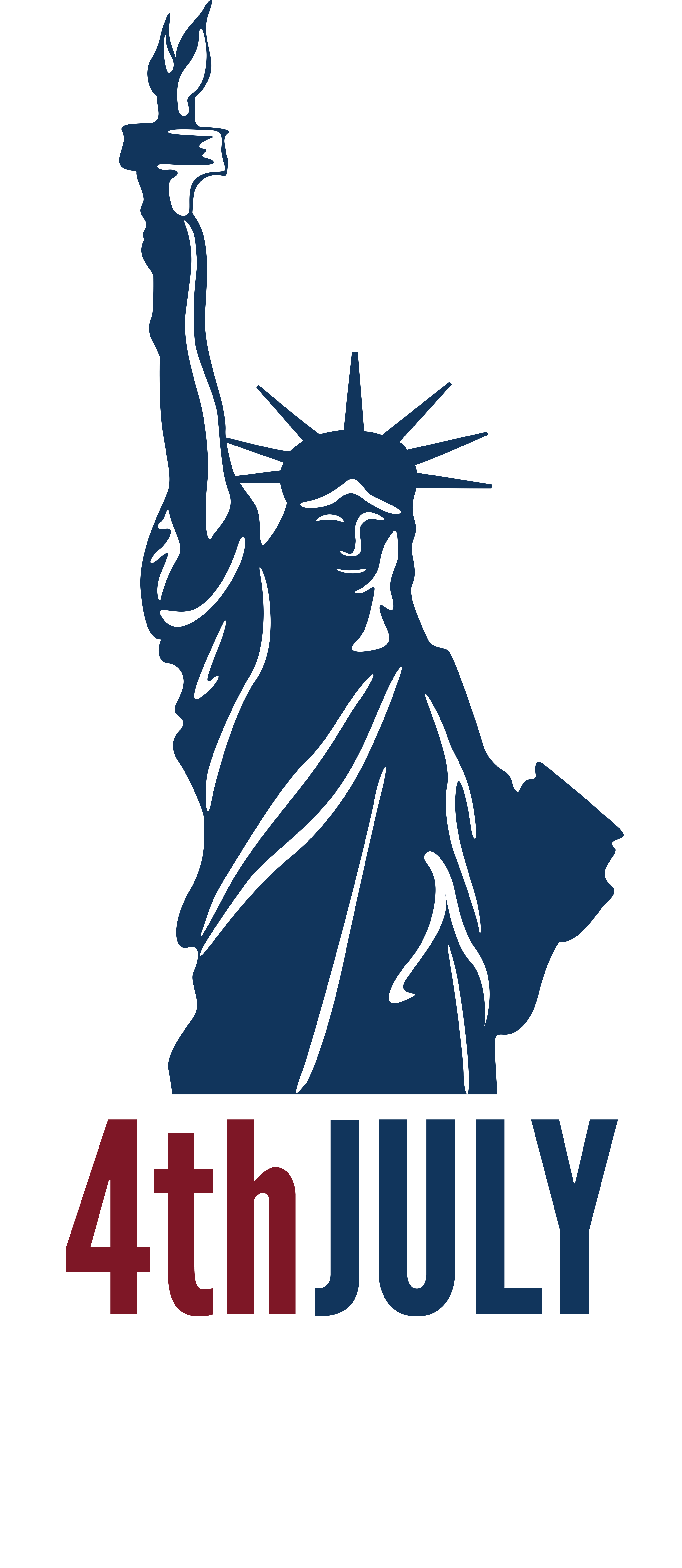 svg freeuse stock  th july independence. Liberty clipart.