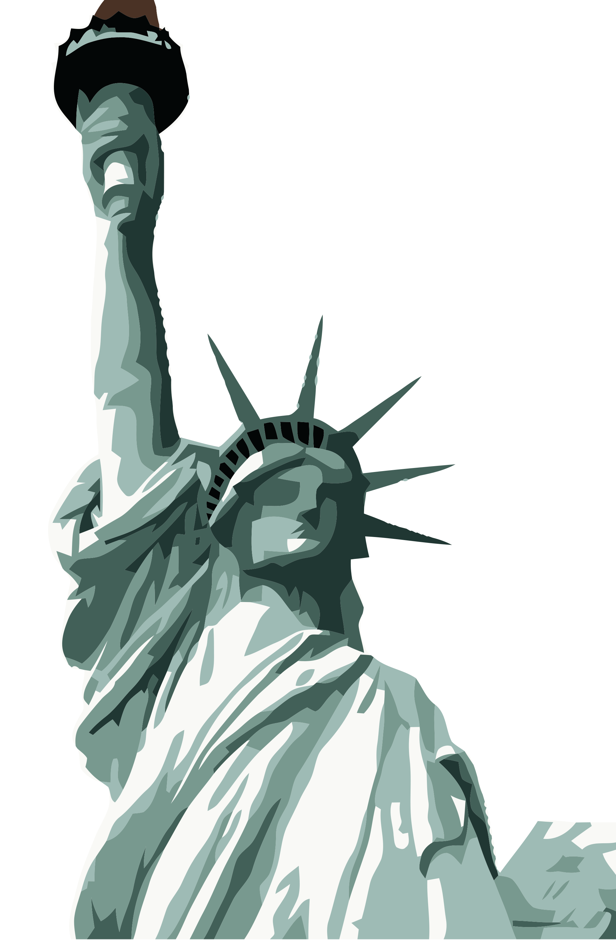 graphic royalty free Liberty clipart. Statue of libery free.