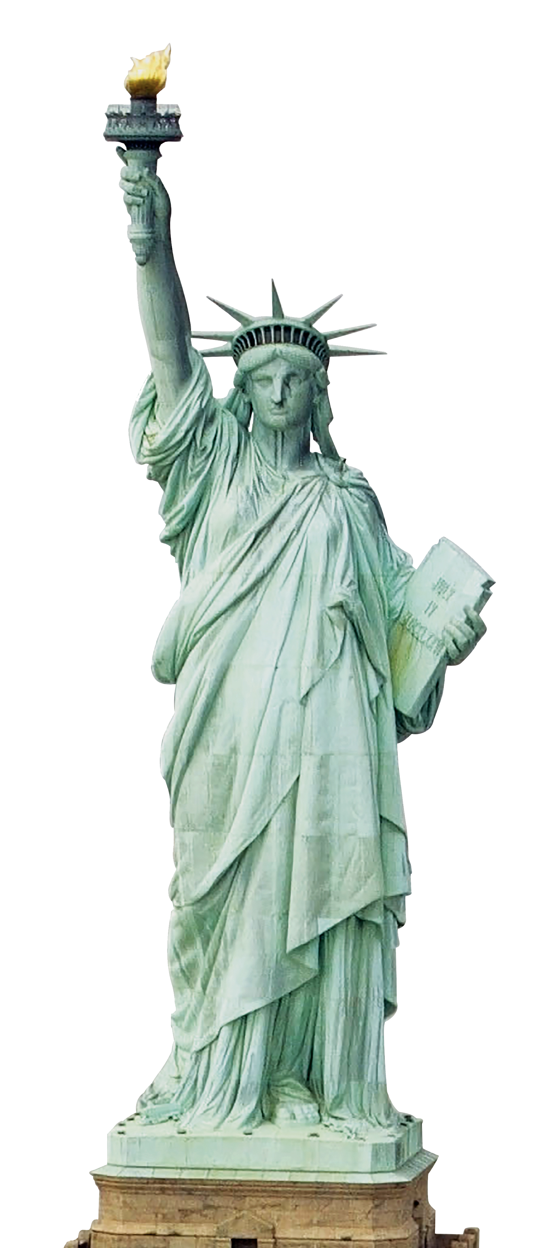 vector black and white library Statue of background png. Liberty clipart transparent.