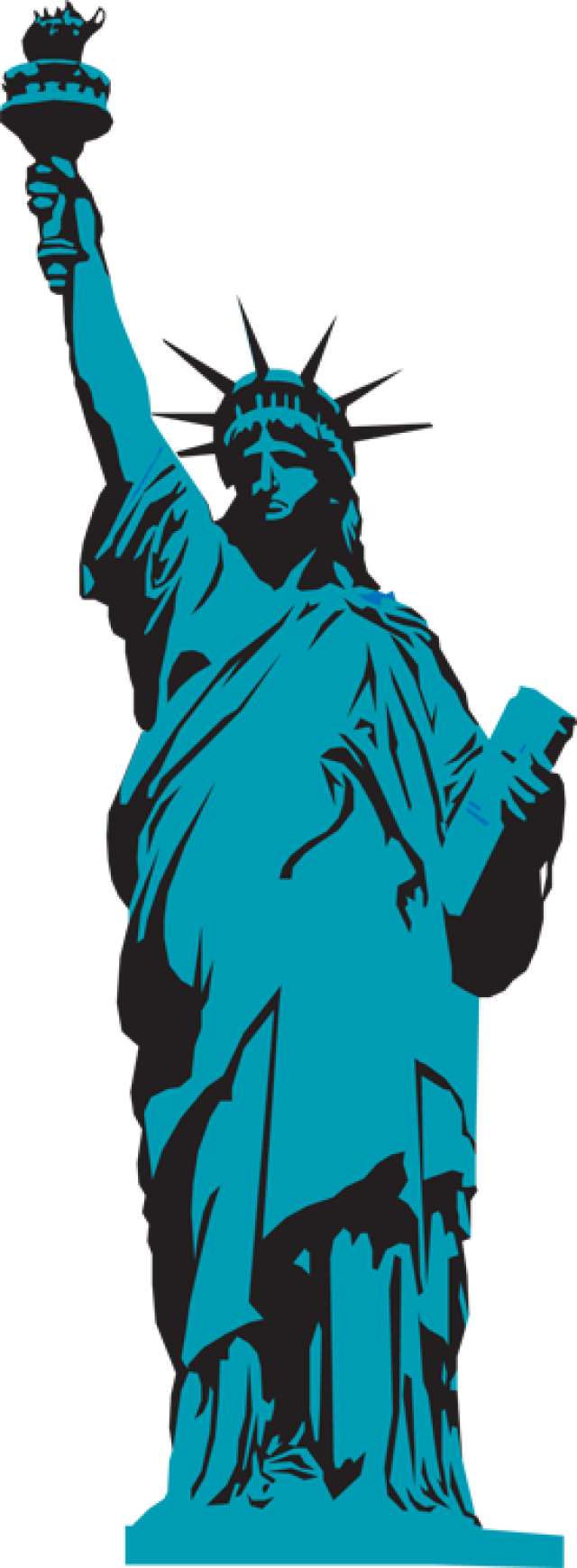 image transparent download Liberty clipart transparent.  collection of statue.