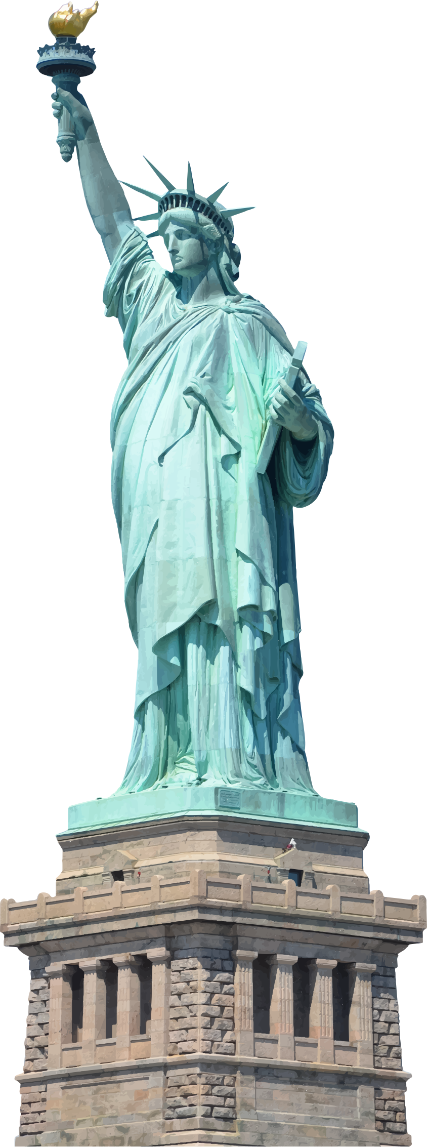 graphic transparent stock Png statue of images. Liberty clipart transparent.