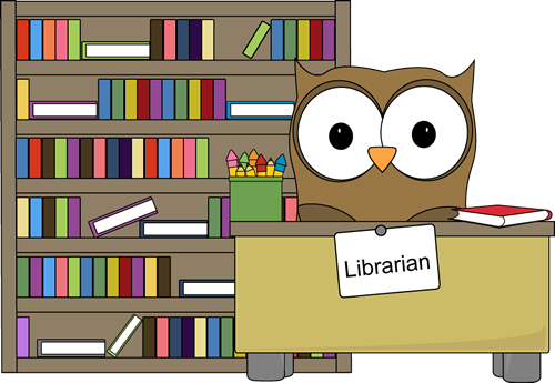 clip art royalty free library Owl classroom job clip. Librarian clipart