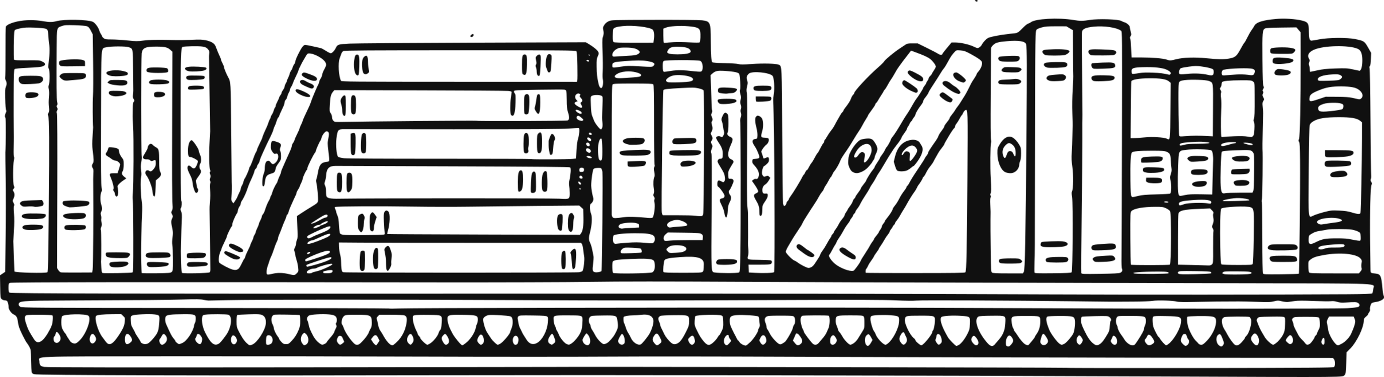 graphic black and white library Bookcase shelf furniture cupboard. Bookshelf vector black and white
