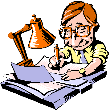 image freeuse download Principal book editor frames. Writer clipart script