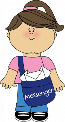 transparent Librarian clipart messenger. Picture .