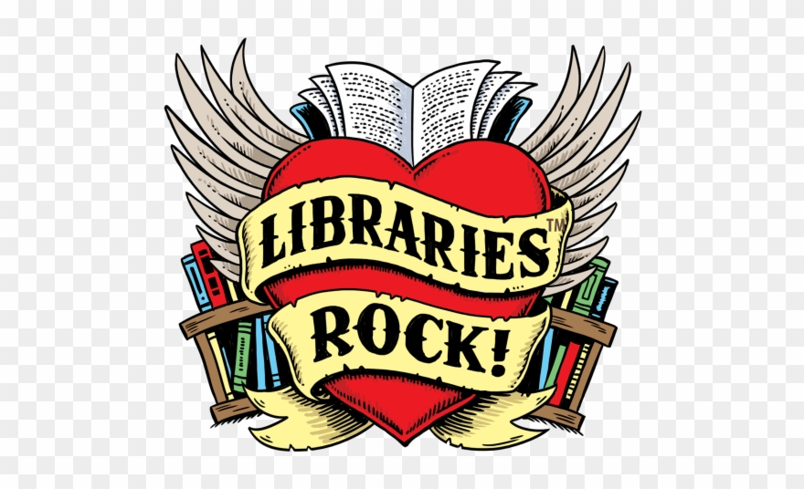 clipart freeuse library Libraries rock summer . Librarian clipart public library.