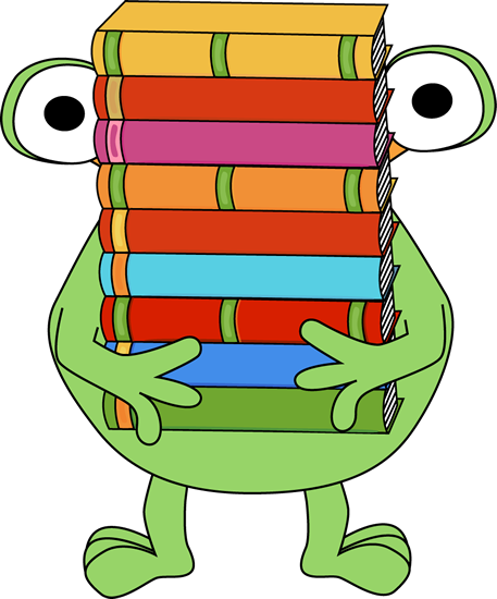 clip freeuse Stack of books panda. Librarian clipart school personnel.
