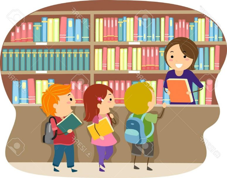 clip art transparent download Room . Librarian clipart school personnel.
