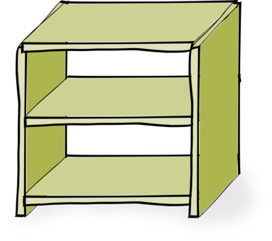 clip art download Bookcase Library Shelf free commercial clipart