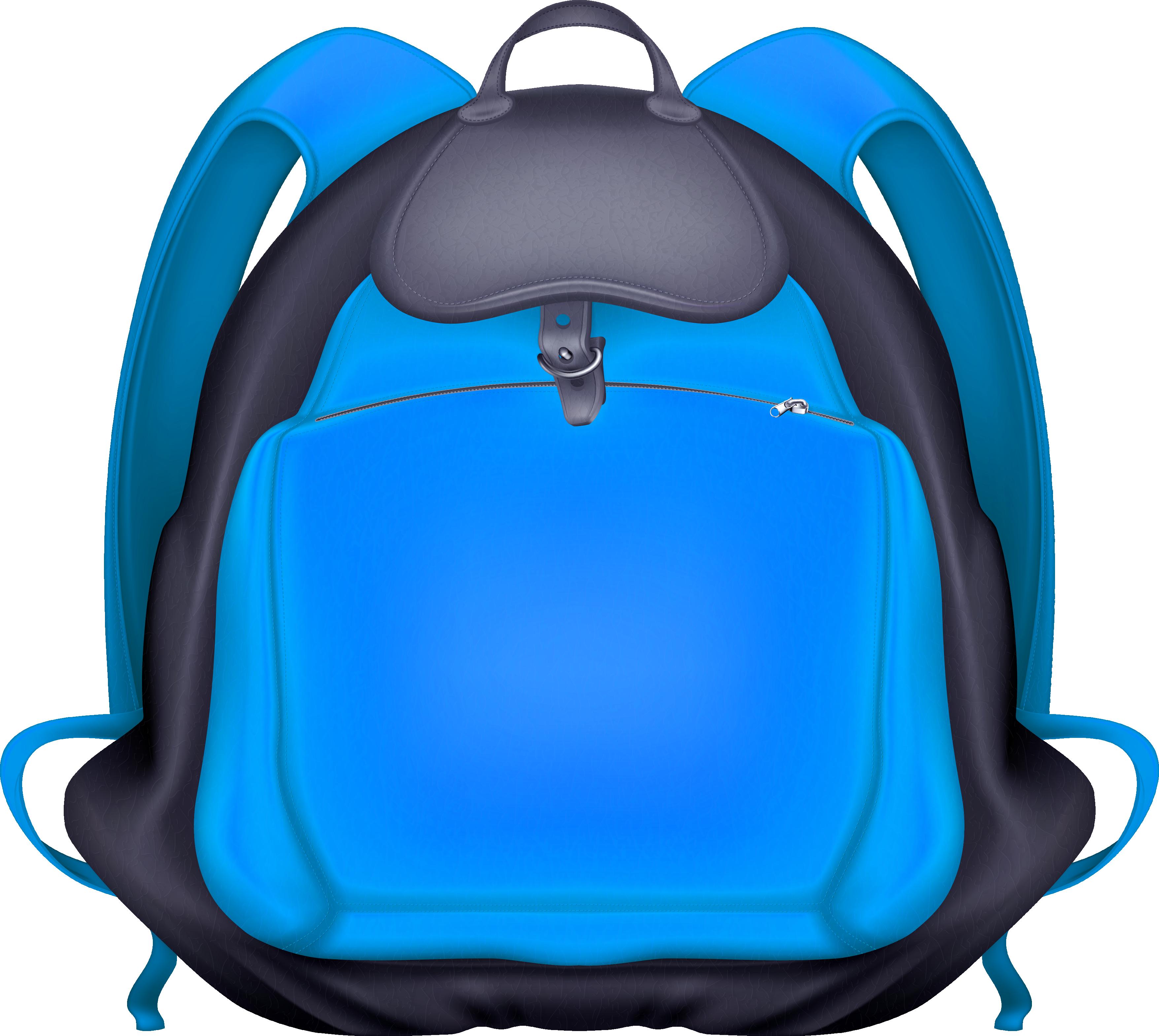 image transparent Blue Backpack Transparent PNG Image
