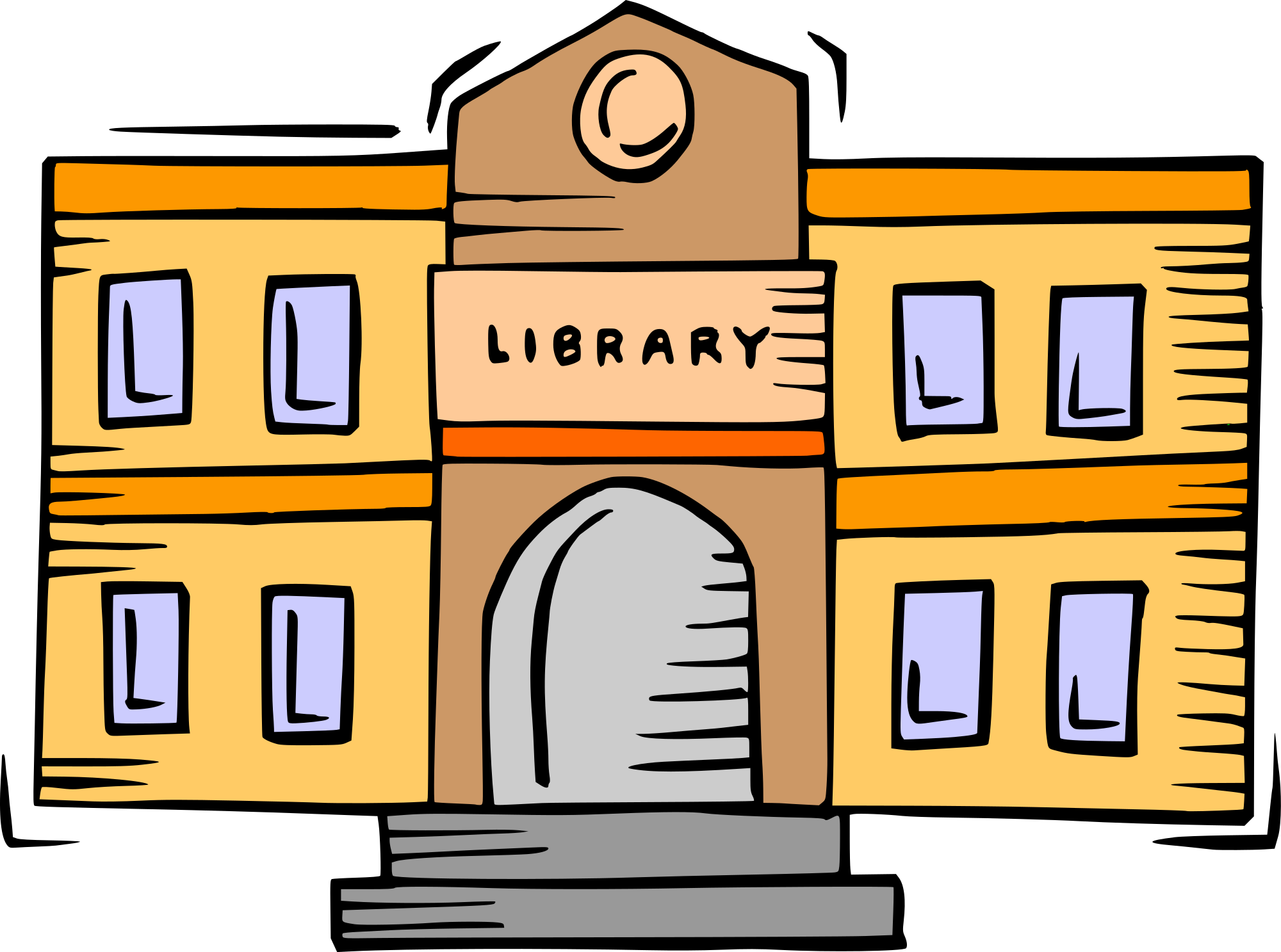 clip library download Library building clipart. File svg wikimedia commons