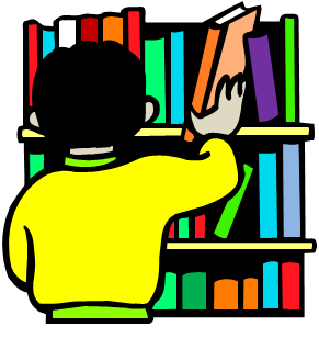 graphic royalty free download Library class . Librarian clipart school personnel.