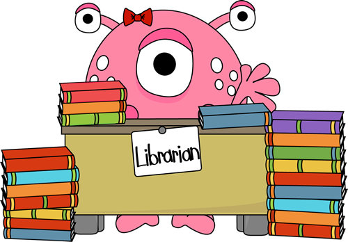 picture royalty free library Library clipart. Free clip art librarian