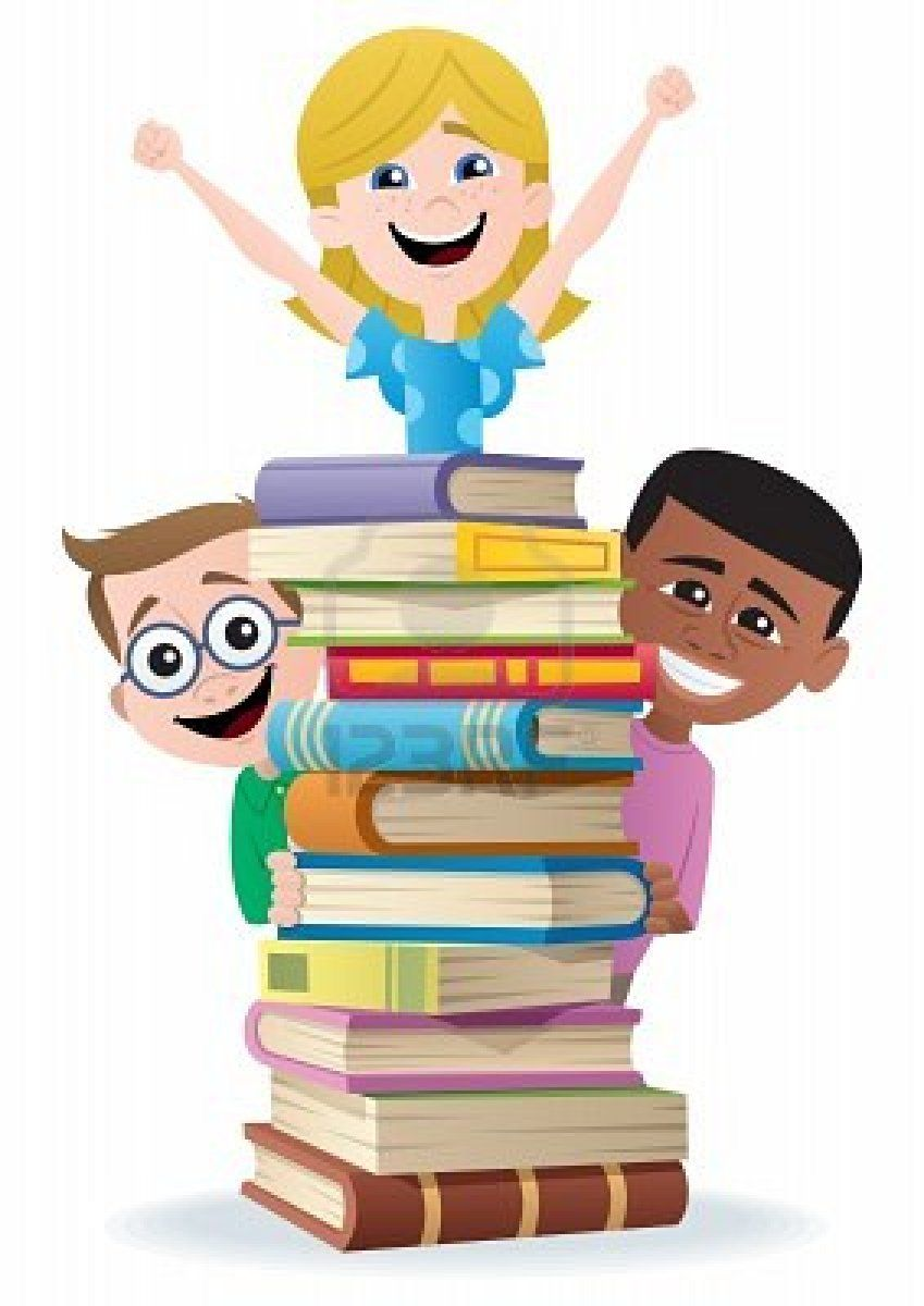 jpg royalty free library Child book read across. Library clipart for kids