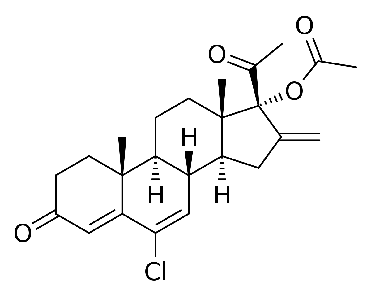 image freeuse Lichen drawing acetate. Chlormethenmadinone wikipedia