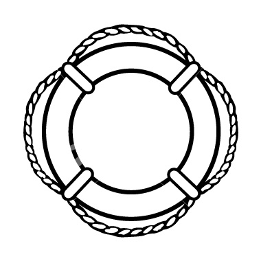 picture freeuse Life preserver clipart black and white. Free images download clip.