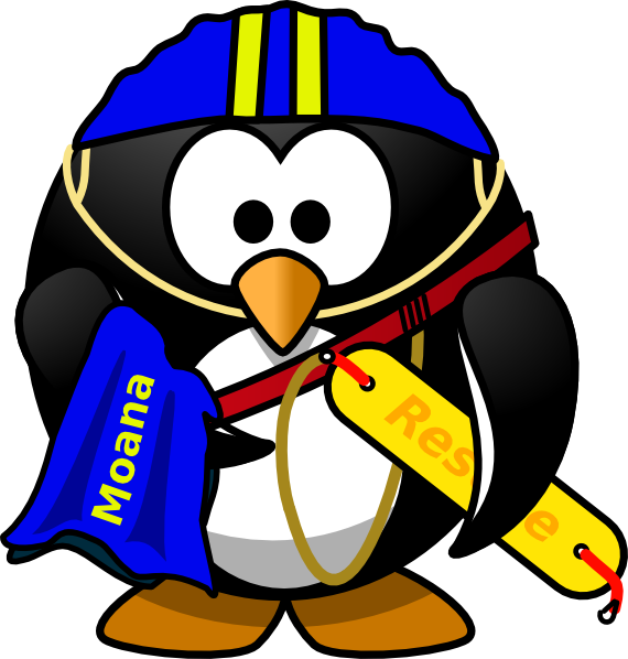 banner free library Penguin clip art at. Lifeguard clipart.