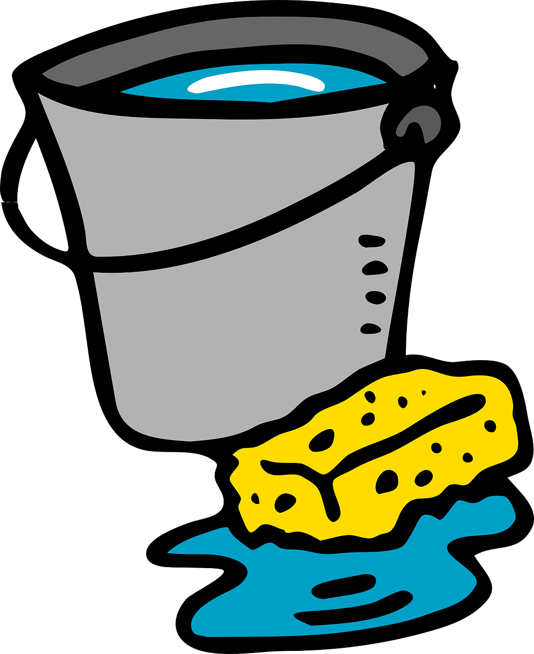 freeuse download Wash clipart water usage. How to clean a