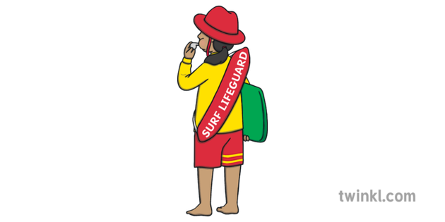 picture library stock Lifeguard clipart whistle blowing. Illustration twinkl .