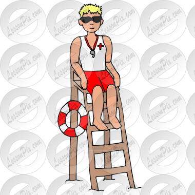 svg royalty free library Lifeguard clipart wisel. Picture for classroom therapy.