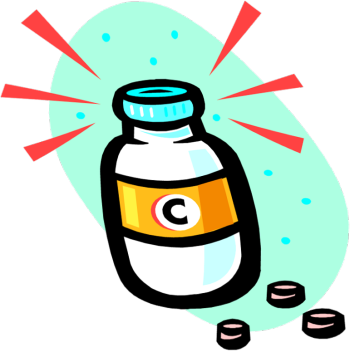 image royalty free download Vitamin c supplements . Lifestyle clipart